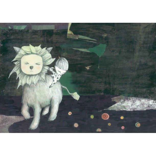 Løvetæmmer, postkort