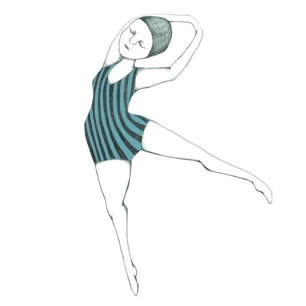 Dans, sticker
